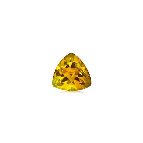 Mysticdrop 0.30-0.50 Cts of 5 mm AA Trillion Yellow Beryl (1 pc) Loose Gemstone