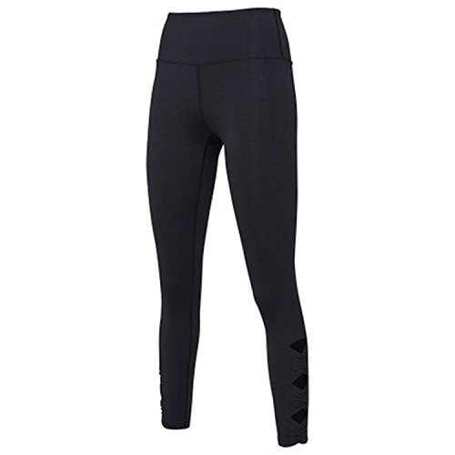 Pre-Sale Tight-Fitting Pants Goddess Pants Hollow Sports Running Side Fitness Yoga,Black,S (2 Sims Jeans)
