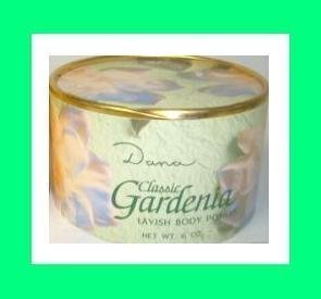 Classic Gardenia Perfumed Dusting Powder By Dana 6.0 Oz / 168g (Extra Large Original Edition