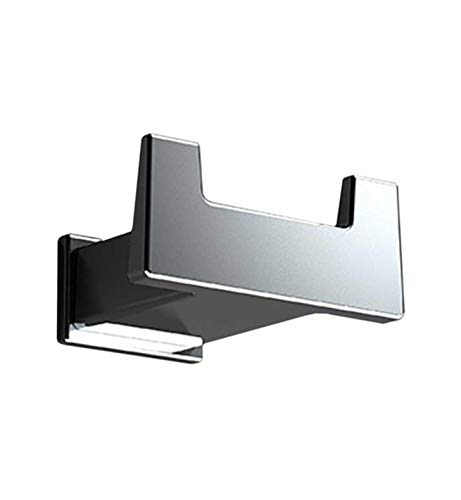 Valencia S-CUBE Wall Brass Towel Robe Hook Hanger for Bathroom Towel Holder by Valencia Bath Collection