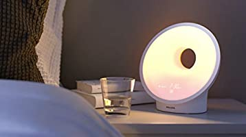 Philips Somneo Connected Sleep and Wake-up Light Therapy Lamp ...