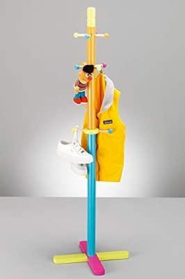 Zeller 13462 Perchero para Niños, Madera contrachapada, 38x38x125 cm