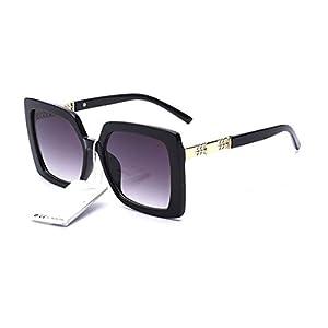 elegante Jewel-Detail Frames Square Oversized Sunglasses for Women