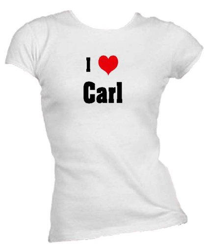 i-love-heart-carl-ladies-juniors-fitted-crew-neck-t-shirt-white-large-apparel
