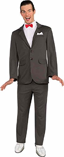 Endless Road 887410 Pee Wee Herman Suit 1980s Adult Standard 44 Chest Gray]()