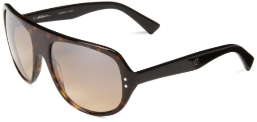 Phillip Lim Men's Newman Aviator Sunglasses,Tortoise,57.5 - Mens Phillip Lim