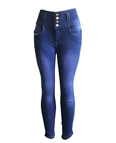 Slim Pantaloni Stretch Immagine4 Compatta Jeans Come Regular Elegante Donna Moda 0AfTx1Zwn