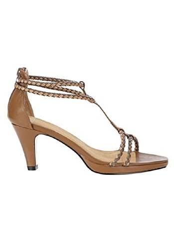 Best Connections Sandalette - Sandalias de vestir de cuero para mujer marrón - marrón