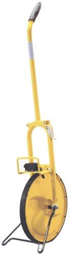 Keson MP315M 0.318m Diameter 1-Meter Circumference Steel Frame Solid Plastic Measuring Wheel by Keson