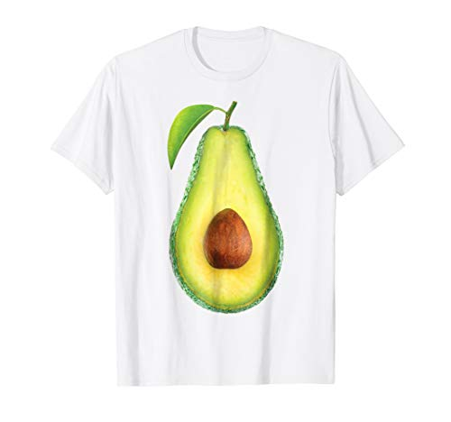 Halloween Avocado Costume Belly Shirt Cute Outfit for Kids