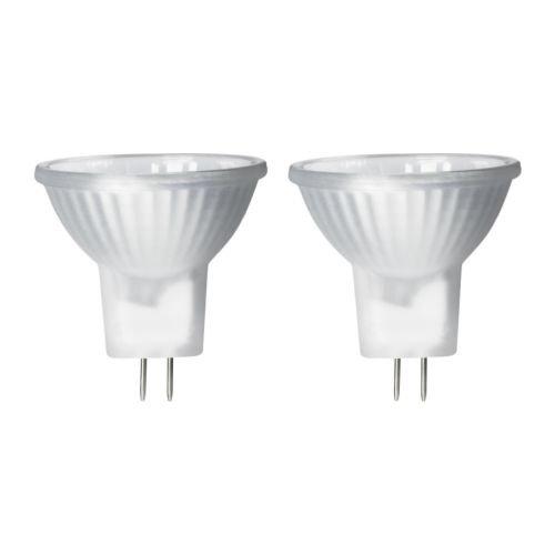Ikea Halogen Bulb Gu4 Mr11,20 W - 2 Pack - 20w Gu4 Mr11 Bulb