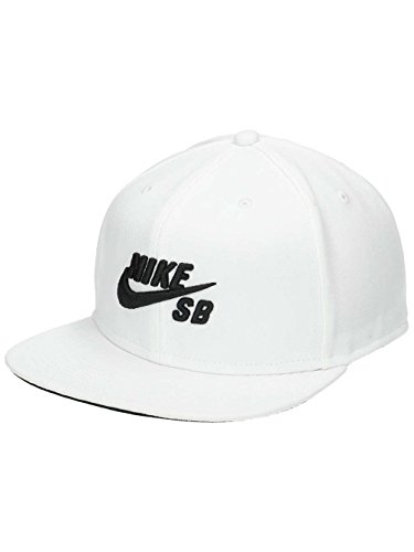 bb261cbfb68 Amazon.com  Nike Mens SB Icon Pro Snapback Hat Black White  Sports    Outdoors