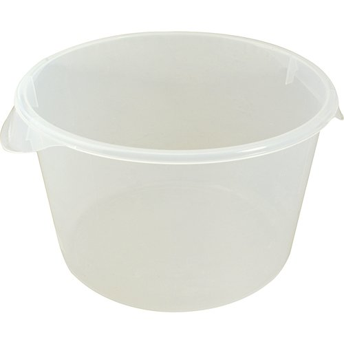 RUBBERMAID Round Food Storage Container 12 qt capacity 5726-24