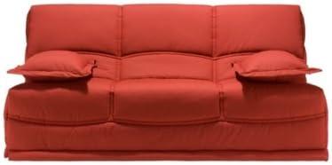 Banqueta para sofá cama Giulia, colchón Naturalis 14 cm 130 ...