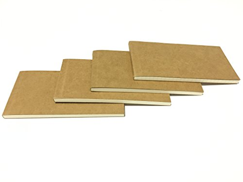 Covered Notepad - Timemorry 4Pack Different Notepads/Memo Pads/Scratch Pads/Writing Pads with Todo/Blank/Graph/Lined Papers
