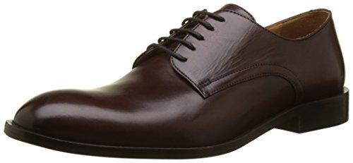 Cuero Hombre Geox Marrón con para Cordones Ebony Saymore C Zapatos de U wSpnXqRSf
