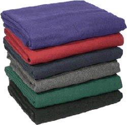Deluxe reciclado lana Yoga blanket-purple: Amazon.es ...