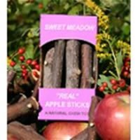 SWEET MEADOW 688019 Apple Sticks Treat for Small Animals, 3-Ounce Box, My Pet Supplies