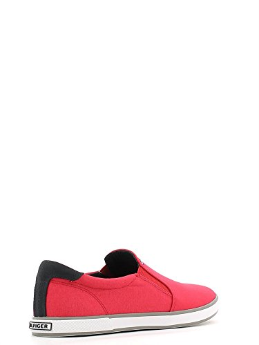 Tommy Hilfiger H2285ARLOW 2D, Herren Slipper, (RED 611), 41 EU