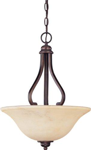 Anastasia Lamp Table (3 Light - Pendant - Honey Marble Glass)