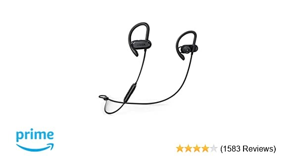 c694740b72f Wireless Bluetooth Headphones, Soundcore Spirit X Sports Earphones by  Anker, Bluetooth 5.0, 12-Hour Battery, IPX7 Wireless Earbuds, Noise  Isolation, ...