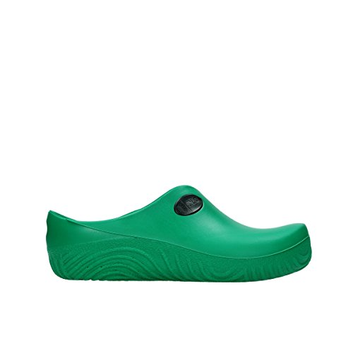 Wolky Comfort Clogs 02550 OK Clog 90700 green fluor PU