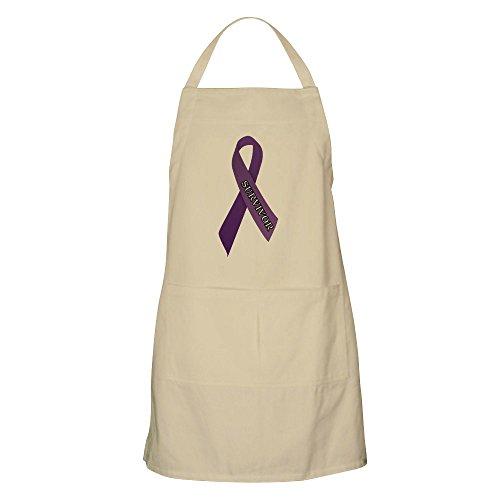 CafePress Purple Ribbon 'Survivor' Apron Kitchen Apron