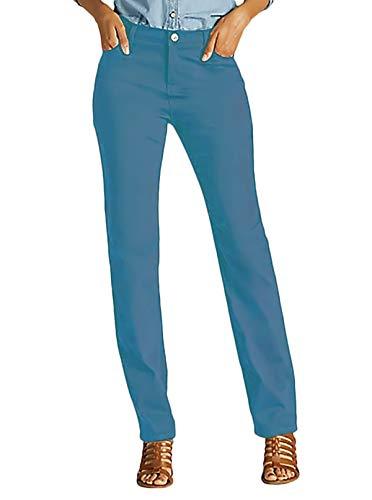 LEE Misses Gwen Platinum Label Classic Fit Jeans, Refresh, Size 14M ()