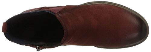 Tamaris Women 25317 Boots Red (burgundy / Navy)