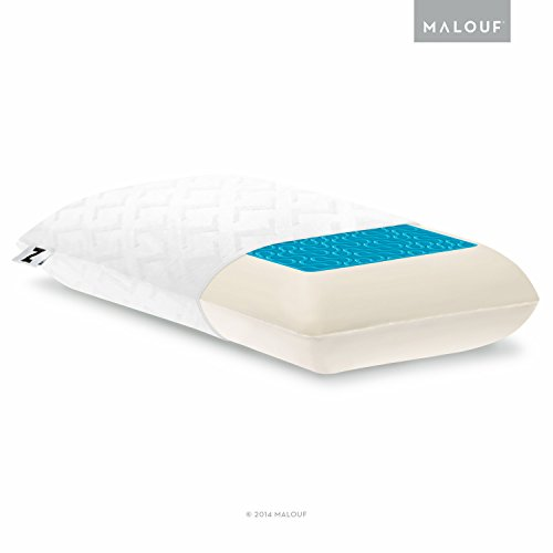 picture of Z® by Malouf Dough® Memory Foam + Liquid Z-Gel Pillow with Removable Velour Cover 5-Year Warranty