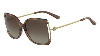 Sunglasses CALVIN KLEIN CK 8577 S 248 LIGHT BROWN HORN