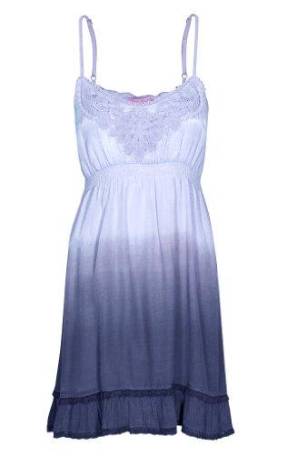 Damen 61362 Blue Unterhemd Cream Pearl p8Kwd0gZq8