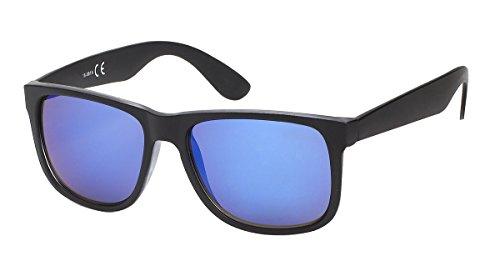 et miroir monture noire verre bleu homme Lunettes estivale miroir 7831 gwH1Y8q