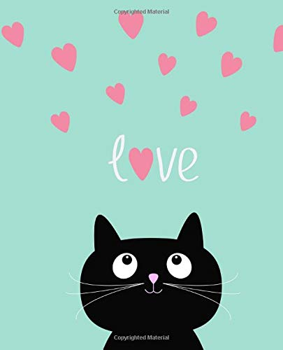 Love Cute Cartoon Cat Journal Notebook Publishing Paddox 9781727226478 Amazon Com Books