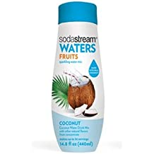 SodaStream Waters Sparkling Water Mix, Coconut, 14.8 Ounce