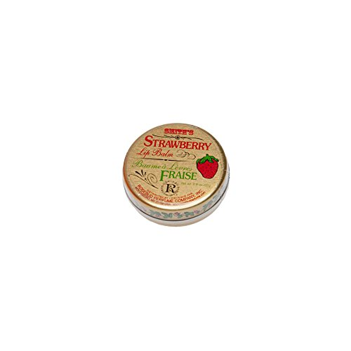 Salve Lip Balm (Rosebud, Strawberry Lip Balm Tin, 0.8 Ounce)
