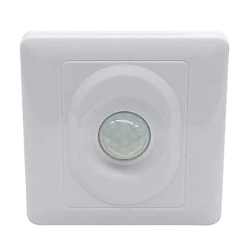 Switches sensor de movimiento IR control automático panel de interruptores de luz LED (AC200-