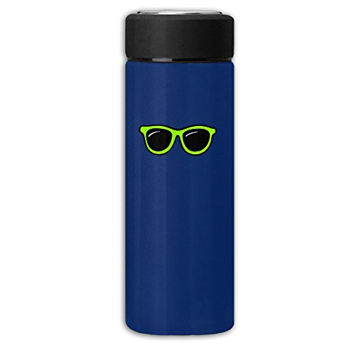 NICOLE SMITH Green Sunglasses Watertight First Class Insulated Frosted Vacuum Cup Thermoses Mug Water Bottle Coffee - Sun Ar Jonesboro