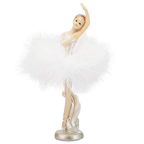 - Wal front Polyresin Statue Exquisite Decoration Dancing Ballet Girl Model Ornaments Arts Crafts Ballet Collection (037)