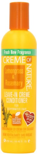 Creme of Nature Lemongrass and Rosemary Leave-in Creme Conditionerfor Dehydrated Hair, 8.45 Ounce