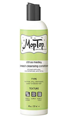 8oz Cowash Cleansing Conditioner, Wavy, Curly & Kinky-Coily, Color Treated & Natural Hair Moisturizer, made w/ Aloe, Sea Botanicals & Honey that reduces Frizz, increases Moisture & Manageability for S