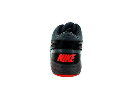 Nike - The Overplay Viii - Farbe: Grau-Orangefarbig-Schwarz - Größe: 43.0