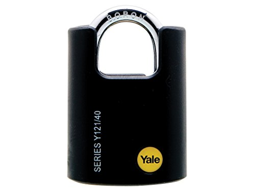 Yale Locks Y121 40mm Brass Padlock Closed Shackle for sale  Delivered anywhere in USA