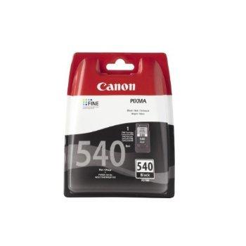 Canon PG-540 - Cartucho de tinta pigmentada en blíster de seguridad, ChromaLife100+, color negro