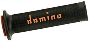 DOMINO Pu/ños racing 126mm negro//naranja A01041C4540 83641