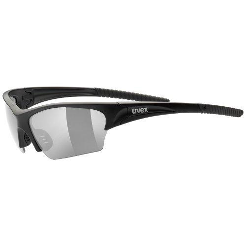 Uvex Sunsation Sunglasses - Matt Black by - Sunglass Sunsation