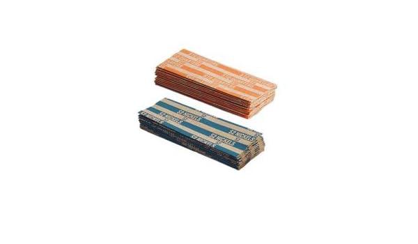 MMF soporte de tubo de la moneda envoltorio - 1000 Wrap (S) - Kraft - gris oscuro, 1000 por caja (mmf216020001): Amazon.es: Oficina y papelería
