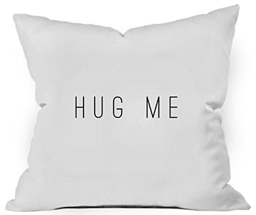 Carolina Quilted Sham (Oh, Susannah Hug Me Throw Pillow Cover - Bereavement Gift Pillowcase Him or Her Anniversary Gift Birthday Gifts for Her (1 18x18 inch, White))