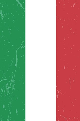 Italy Flag Journal: Italy Travel Diary, Italian Souvenir, Lined Journal to Write in