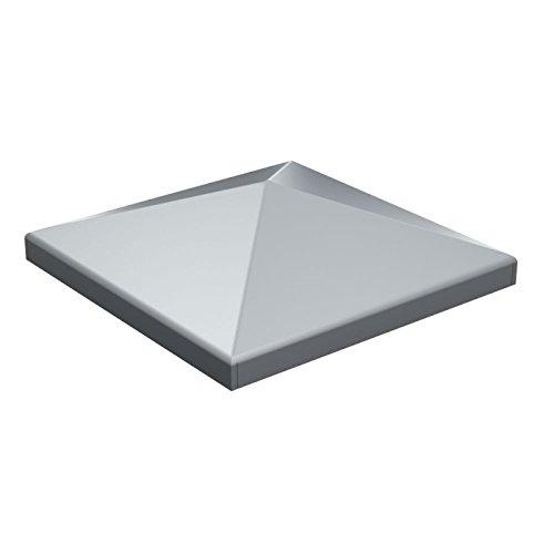 Pfeilerabdeckung 60x60 mm unverzinkt unlackiert